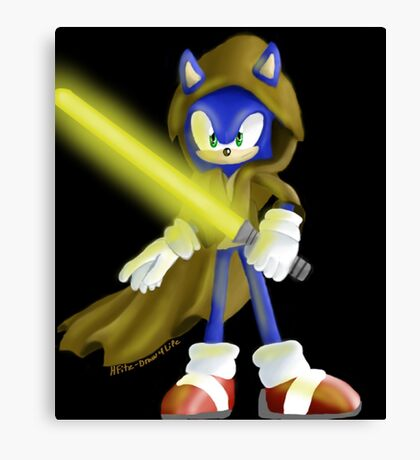 Sonic Skywalker Canvas Print