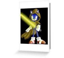 Sonic Skywalker Greeting Card