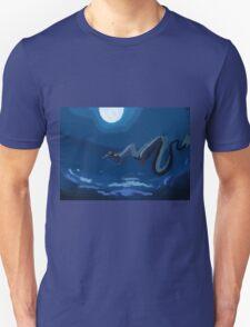 Spirited away flying scene Unisex T-Shirt