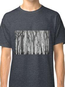 blurred trees Classic T-Shirt