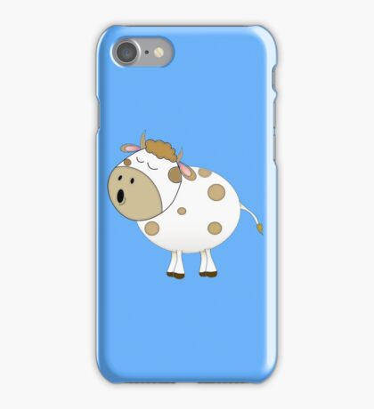 Cute Moo Cow Cartoon Animal iPhone Case/Skin