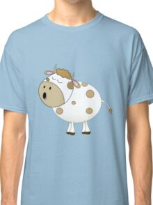Cute Moo Cow Cartoon Animal Classic T-Shirt