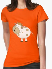 Cute Moo Cow Cartoon Animal T-Shirt