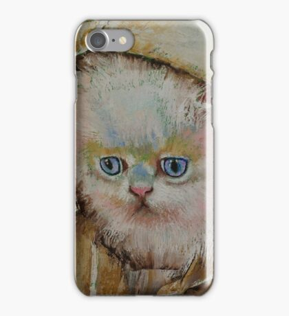Eskimo Kitten iPhone Case/Skin