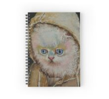 Eskimo Kitten Spiral Notebook