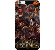 leauge of legends iPhone Case/Skin