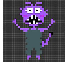 Pixel Monster Photographic Print