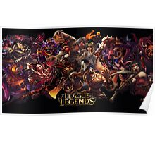 leauge of legends Poster