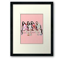 SNSD: Girl's Generation Framed Print