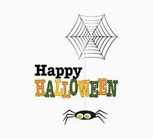 Happy Halloween Spider & Web Unisex T-Shirt