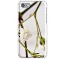 Baby's Breath Macro iPhone Case/Skin