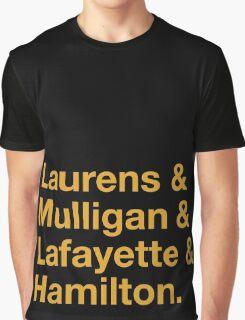Hamilton Names Graphic T-Shirt
