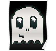 8-bit ghost Poster