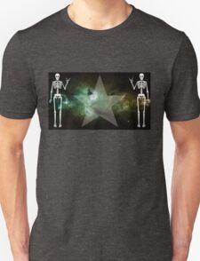 Space Skeletons Unisex T-Shirt