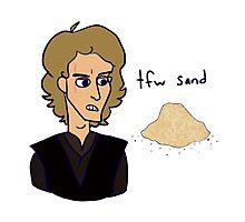tfw sand Photographic Print