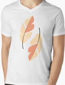 Feathers 001 Mens V-Neck T-Shirt