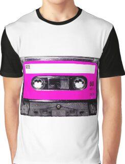 Classic Pink Label Cassette Graphic T-Shirt