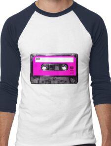 Classic Pink Label Cassette Men's Baseball ¾ T-Shirt