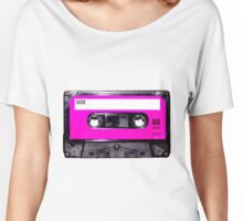 Classic Pink Label Cassette Women's Relaxed Fit T-Shirt