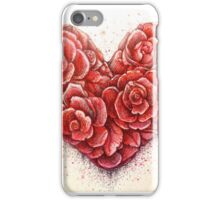 rose of hearts iPhone Case/Skin