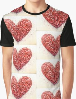 rose of hearts Graphic T-Shirt