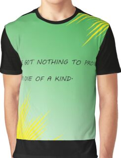 Young Justice Artemis quote Graphic T-Shirt