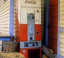 Old Coke machine by Rodney Williams