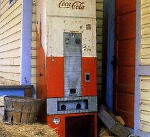 Old Coke machine by Rodney Lee Williams