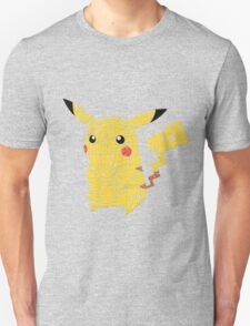 Pokemon - Pikachu - Typography  T-Shirt