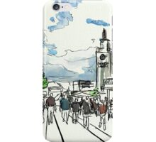 One Sunny Day at the Farmers Market iPhone Case/Skin