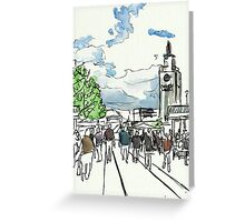One Sunny Day at the Farmers Market Greeting Card