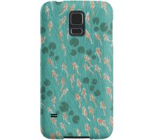Koi Pond Pattern Samsung Galaxy Case/Skin