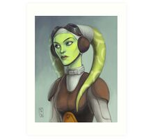 Star Wars - Hera Art Print