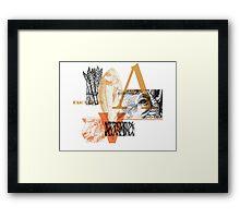 Animals | Vegetables Framed Print