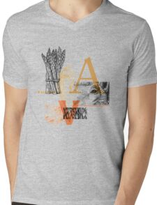 Animals | Vegetables Mens V-Neck T-Shirt