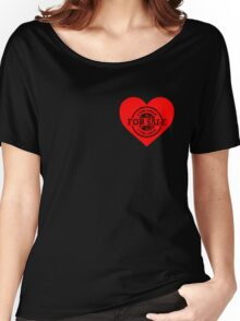 Heart for Sale Black version Women's Relaxed Fit T-Shirt