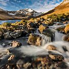 Glyder Fawr Mountains by Adrian Evans