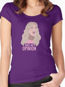 Tamra Judge: Thats My Opinion Women's Fitted Scoop T-Shirt