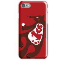 red tale iPhone Case/Skin