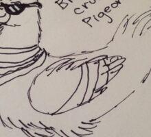 Pigeon #Sweg Sticker