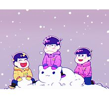 Winter matsus Photographic Print