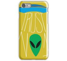 Trust No One - The X-Files iPhone Case/Skin