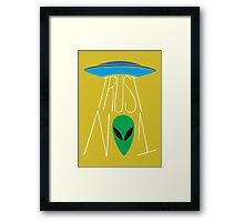 Trust No One - The X-Files Framed Print