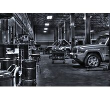 Where Jeeps go to Sleep Photographic Print