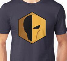 Deathstroke Helmet Emblem Unisex T-Shirt