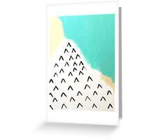 Ocean Mountains Greeting Card