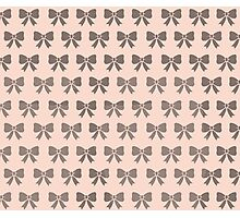 Dotty Bows  Photographic Print