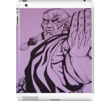 Gouken iPad Case/Skin