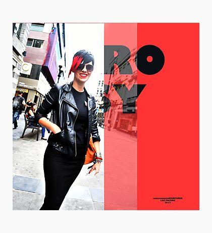 Rosy! Photographic Print