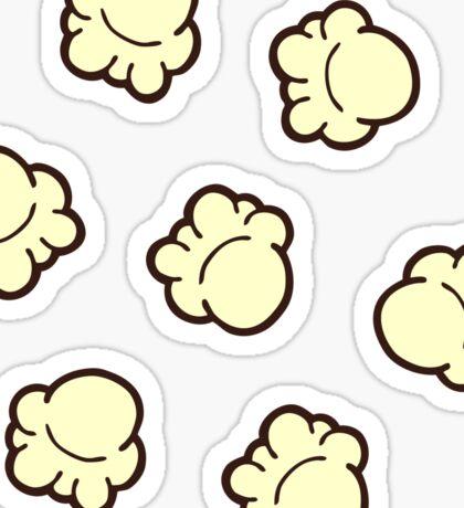 Popcorn Pattern Sticker